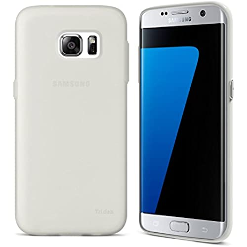 Galaxy S7 Edge Case, Tridea [Scratches/Dust Proof] Soft Premium Soft touch feeling Slim Flexible Gel TPU Case Sales