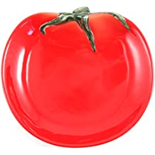Tomato Container Collectible Fruit Ceramic Glass Kitchen Platter