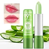 2 Pack Aloe Vera Lipstick, Firstfly Long Lasting