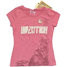 Led Zeppelin Swag Stairway to Heaven Lyrics Girls Kids Youth Pink T Shirt