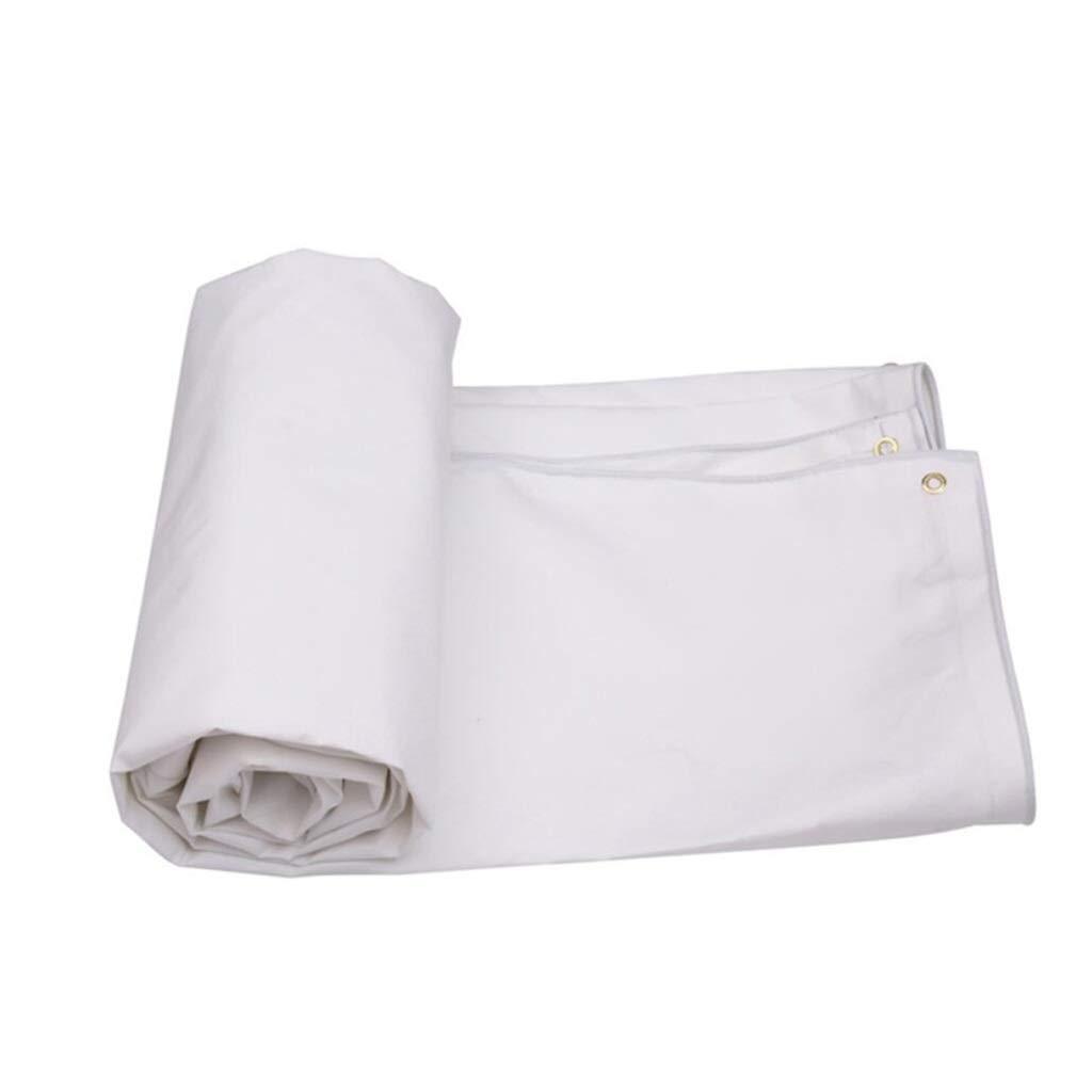 Robusto Bianca Telone All'aperto Silicone Protezione Solare Canopy Cloth Isolamento Camion Anti età 100% Impermeabile e UV protetto