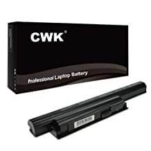 CWK® High Performance New Battery for Sony Vaio VGP-BPS26 VGP-BPL2 VGP-BPS26A Laptop Notebook Computer 6-Cell Battery 24 Months Warranty