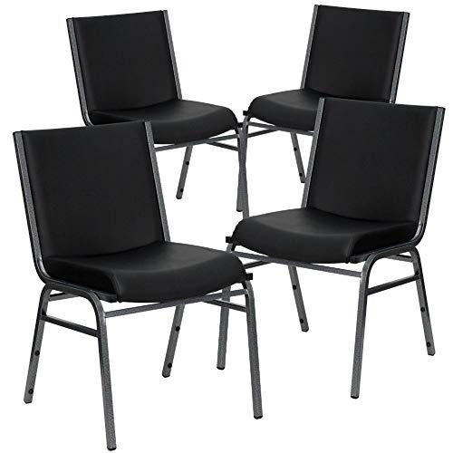Flash Furniture 4-XU-60153-BK-VYL-GG 4