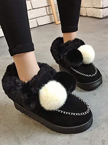 YSFU YSFU YSFU Stiefel Damen Schnee Stiefel Freizeit Warme Bequeme Schuhe Damen Stiefelies Stiefelie Casual Herbst Winter Outdoor 2ea3ef