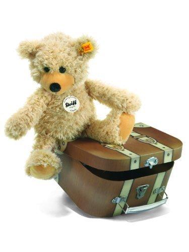 gran selección y entrega rápida Steiff 30cm Charly Dangling Teddy Bear in Suitcase (Beige) (Beige) (Beige) by Steiff  tienda en linea