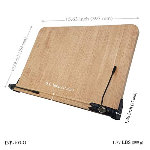 BestBookStand INP-103-O Patented Ergonomic
