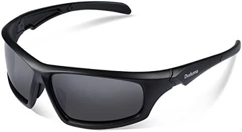 Duduma Tr601 Polarized Sports Sunglasses for Baseball Cycling Fishing Golf Superlight Frame