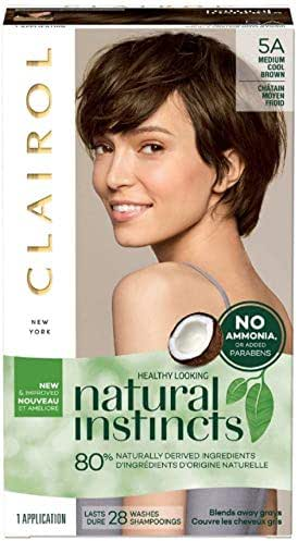 Clairol Natural Instincts Hair Color, Medium Cool Brown [5A] 1 ea