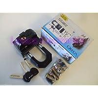 Omega TL-Classic Heavy Duty Car/Truck Security Transmission Lock w/ 25lb Bracket & Keys