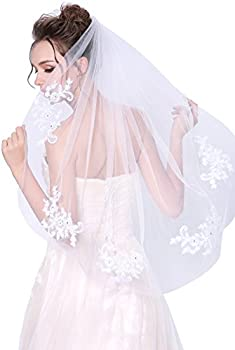 Deceny CB Lace Wedding Veil