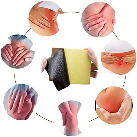 Taykoo Ginger Plaster Patch Rheumatism Arthritis Knee Pain Pain Shoulder Relieving Patch (10pcs)