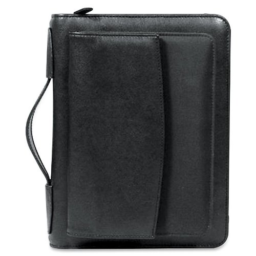 leather binder 5 1 2 x 8 1 2 amazon com
