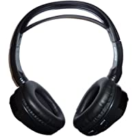 Concept CDC-IR10 Over the Head IR Infrared Wireless Stereo Headphones Earphones for Car Audio / Video Devices using Wireless IR infrared