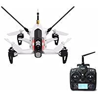 Walkera Rodeo 150 Racing Drone 600TVL Camera Battery Charger with DEVO 7 Remote Control Transmitter White - RTF Version