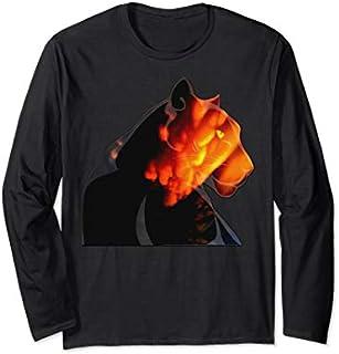 Panther Animal Felino Wild Black Panther, Wildlife  Long Sleeve T-shirt | Size S - 5XL