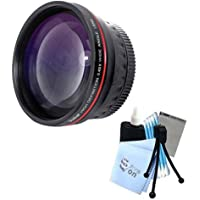 Vivitar Series 1 RedLine HD 0.43X Wide Angle Lens w/ Complete Cleaning Kit for Canon G5 G6 G15 Cameras