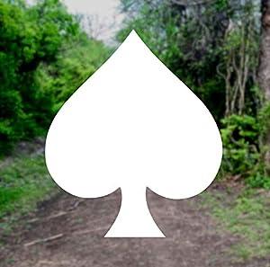 Spade Poker Symbol [Pick Any Color] Vinyl Transfer Sticker...