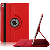 iPad Pro 9.7 Case, Vangoog iPad Pro Case 360 Degree Rotating Stand Case with Smart Cover Auto Sleep / Wake Feature forApple iPad Pro 9.7 inch-Red