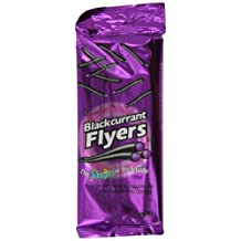 FLYERS Liquorice with Blackcurrant Crystal Centre 95 g (Pack of 12)