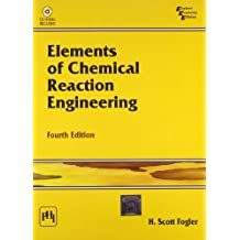 Elements of Chemical Reaction Engineering 4th Economy Edition