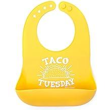 Bella Tunno Silicone Wonder Bib, Taco Tuesday
