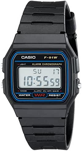 Casio F91W-1 Classic Resin Strap Digital Sport Watch