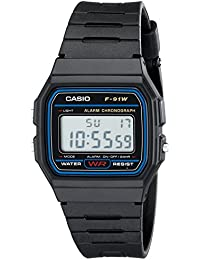 F91W-1 Classic Resin Strap Digital Sport Watch