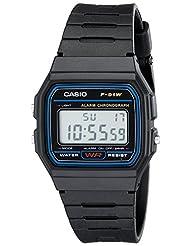 Casio Men's Classic Black Resin Strap Watch Digital F91W-1