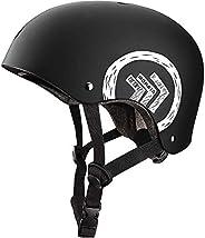 MONATA Skateboard Helmet Adjustable Skate Helmet for Youth Adults Teens Multisport Roller Skating Skateboardin