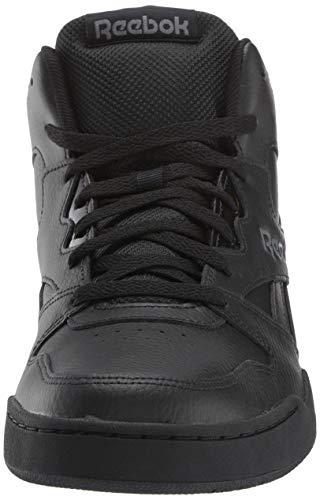 Reebok Men's BB4500 Hi 2 Sneaker, Black/Alloy, 9.5 Wide