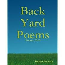 Back Yard Poems