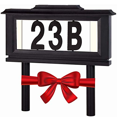 Lighted House Numbers Address
