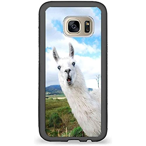 Custom Phone Cases Design for Samsung Galaxy S7 - Cool Alpaca back phone cases Sales