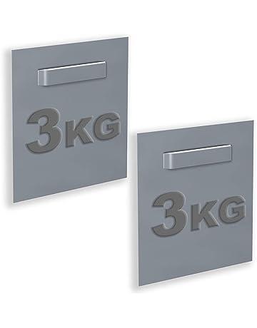NEWLY recinto de 2 unidades adhesivas para sándwich y espejo 70 x 70 mm: max