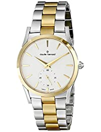 Claude Bernard Women's 23092 357J AID2 Classic Ladies Analog Display Swiss Quartz Two Tone Watch