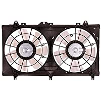 MAPM Premium ENGINE COOLING FAN ASSEMBLY; V6; FOR COUPE OR CONVERTIBLE