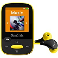 SDMX24-008G-A46Y Clip Sport 8GB, Yellow SanDisk Digital Audio Player