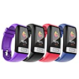 Smart Sports Bracelet Color Screen Waterproof Watch with Blood Pressure/Heart Rate/ECG Monitor Activity Fitness Tracker Wristband