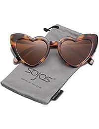 001ad830aa643 Heart Shaped Sunglasses Clout Goggle Vintage Cat Eye Mod Style Retro Glasses  Kurt Cobain