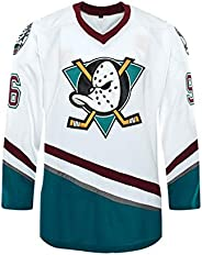 Custom Mighty Ducks Movie Ice Hockey Jersey 90S Hip Hop Clothing for Party Stitched Name Number