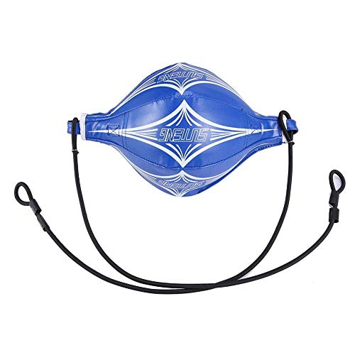 IRIS PU Leather Boxing Speed Ball Double End for Thai Punching Training Fitness (Blue) Price & Reviews