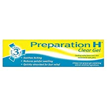 Preparation H 3 Way Action Clear Gel for Sore Skin 50g