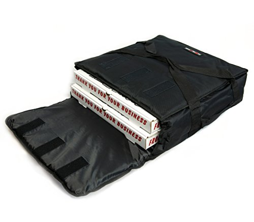 Black Polyester Insulated Pizza