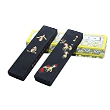 Hukaiwen Ink Block Handmade Oil Smoke Ink Stick for Chinese Traditional Calligraphy and Painting GyJy 31g by Hukaiwen Ink Block