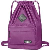 HITOP Drawstring Backpack, Waterproof Snow Resistant...