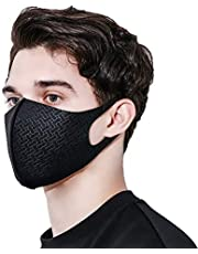 Face Mask UPF 50, UV Sunblock Protective, Silver ion nano, Unisex, Washable, Reusable, Breathable for Running