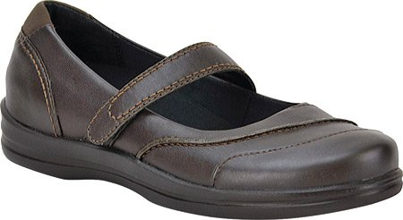 Apex Women's B00E8HNCUG Lisa Classic Mary Jane B00E8HNCUG Women's 7 W US|Brown 5ef65a