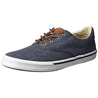 Sperry Men's Striper II Cvo Sneaker, Navy, 16