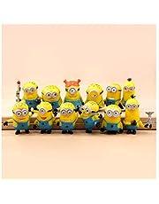 مجموعة شخصيات مجسمة من 12 قطعة/المجموعة لشخصيات مينيون من فيلم ديسبيكابل مي 2