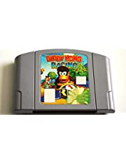 BrotheWiz Nintendo N64 Games Diddy Kong Racing N64 USA Version Gray Game Card For USA NTSC Game Player Game Cartridge